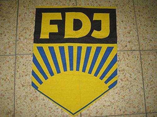Lagermaulwurf FDJ Aufnäher,Wimpel, Fahne, Wappen,Ostalgie DDR -Artikel