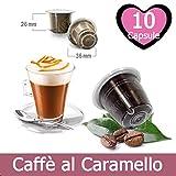 10 Capsule Caffè Al Caramello Compatibili Nespresso