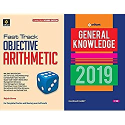 Fast Track Objective Arithmetic FREE General Knowledge 2019 MRP 30 rs