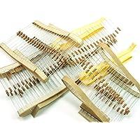 POPESQ® - 200 STK./ pcs. x Widerstand/Resistor Set 0.25W 4 x 50 STK./pcs.Widerstände (220 Ohm, 330 Ohm, 1K, 10K) #A760