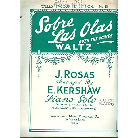 Over The Waves Waltz (Sobre Las Olas) - Piano Solo Violin & Cello ad lib