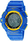 Everlast 'Heart Rate Monitor' Automatic Plastic and Rubber Fitness Watch, Color Blue (Model: EVWHR004NB)