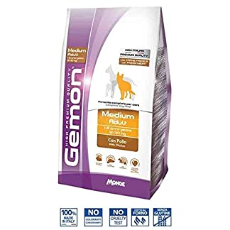 gemon - Treats for Dog gemon Medium Adult with Chicken - 15 kg Bag gemon – Treats for Dog gemon Medium Adult with Chicken – 15 kg Bag 51tHRAxXv1L