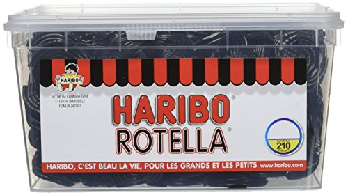 Haribo Bonbon Gélifié Rotella x 210 Pieces 1890 g