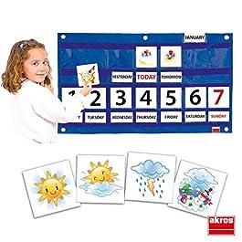 Akros 39000D Calendario settimanale Giochi di apprendimento