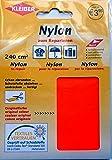 Kleiber 240 cm2 Selbstklebender Reparaturflicken für Zelte/Regenschirme aus Nylon, Neonorange