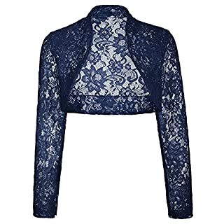 Ladies Lace Bolero Jacket for Party Dresses Under 20 BP49-7 2XL