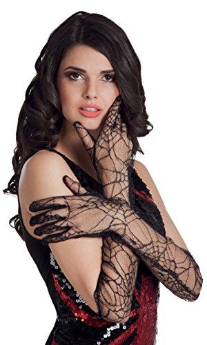 Boland 74543 - Handschuhe Spiderweb