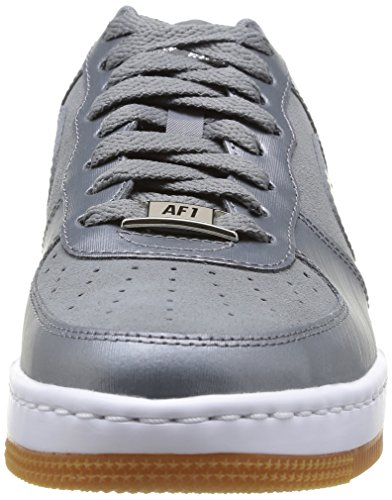 Nike 654852 002 Wmns Air Force 1 Airness Damen Sneaker Mehrfarbig (COOL GREY/COOL GREY)