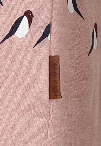 Naketano Female Hoody Schmierlappen Doofmann II Dusty Pink Melange