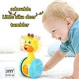 Early Education 3 Monate + Baby Hip Hop Schaukel Rentier Kinder Tumbler Tier Spielzeug für Kinder & Kinder Jungen und Mädchen