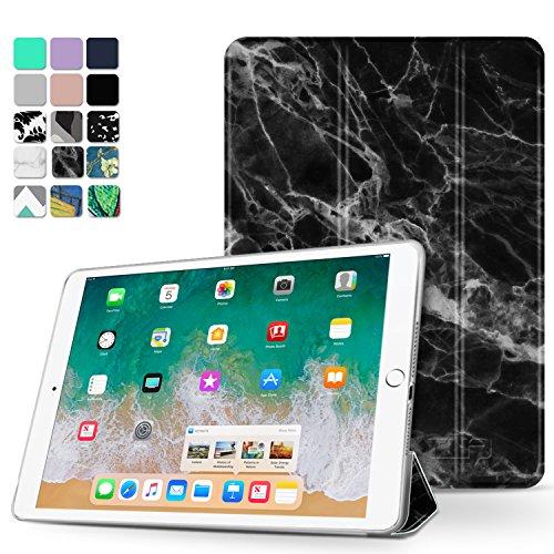 Tnp iPad Pro 10.5case–ultra sottile leggero Folio Smart Cover con supporto multiangolare, Smart auto Wake/Sleep per Apple iPad Pro 10.5inch 2017(marmo nero)