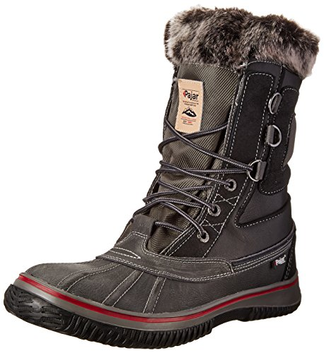 Pajar Men's Tuscan Boot, Black, 41 EU/ 8 - 8.5 D(M) US