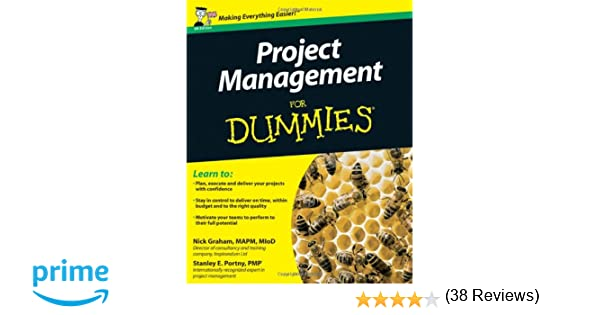 Project Management For Dummies (UK Edition): Amazon.co.uk: Nick ...