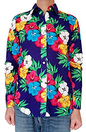 Bent Banani Men's Floral Shirts - Gilly (Long Sleeve) (4XL)