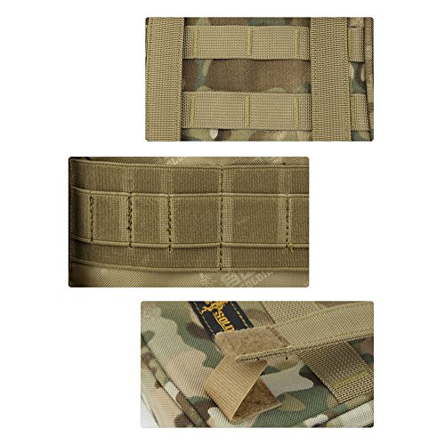 YAAGLE Militärisch tragbar Taschen EDC Kuriertasche Umhängetasche klein Schultertasche multifunktional Aktentasche Duty Bag outdoor Tarnung 1