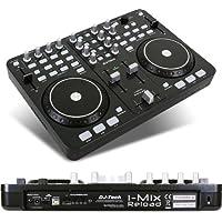 DJ-Tech IMix Reload DJ-Controller, MIDI, Schwarz