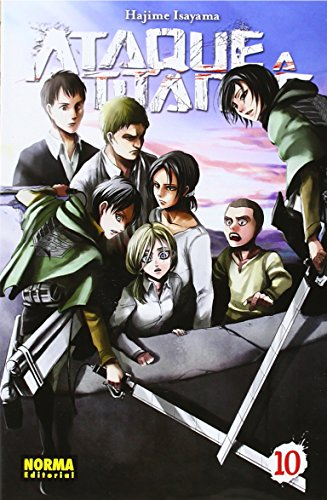 Ataque a los titanes 10 por Hajime Isayama