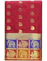 Saravanabava Silks Art Silk Saree With Blouse Piece
