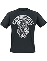 Sons Of Anarchy Reaper Camiseta Negro