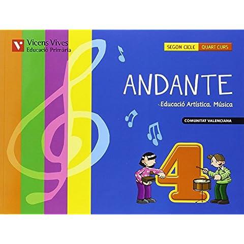 ANDANTE 4 VALENCIA+ CD: Andante 4. Comunitat Valenciana. Llibre (+CD): 000002