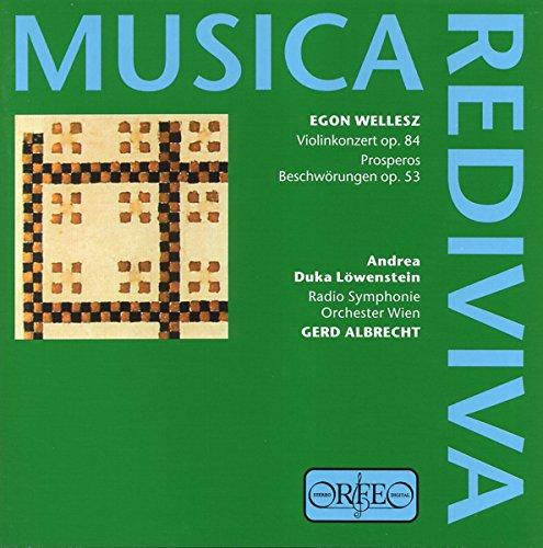 Musica Rediviva - Egon Wellesz