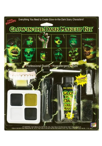 Glow in the Dark Family Make-up Kit Fancy (Glow Kit Up Dark Make In The)
