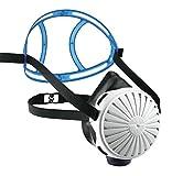 Dräger X-plore 2100 Set - Mehrweg-Atemschutzmaske aus EPDM + 5x FM P3 Filter, Universalgröße