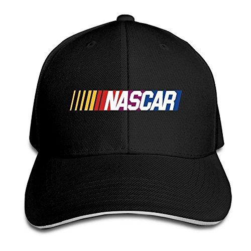 huseki-foode-nascar-stock-car-auto-racing-logo-peaked-baseball-cap-snapback-hats-black