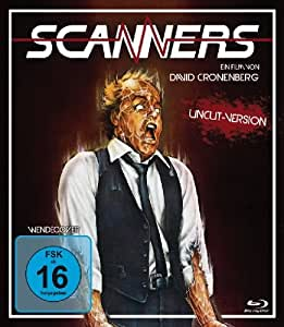 Scanners 1 - Uncut Version [Blu-ray]