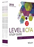 Wiley Study Guide for 2018 Level II CFA Exam: Complete Set of Vol. I - Vol. V