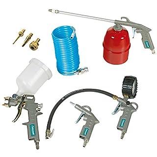 Aircraft Qualitäts Druckluft-Set 8 teilig mit Pistole und mehr, 9006248005495