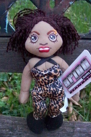 SCARY Spice Girls Bean Bag Plush Doll by BIG Product by BIG ()