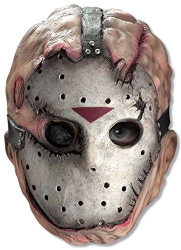 Rubie 's Offizielles Jason Erwachsene 3/4Vinyl Maske Fancy (Kostüm Killer Jason)