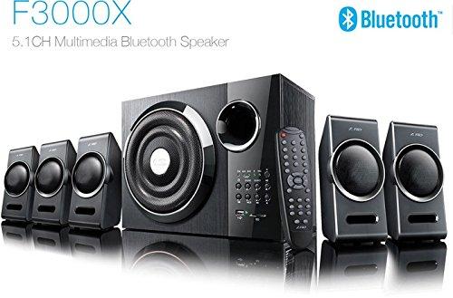 F&D 5.1 Channel 3000X Speaker (Black)