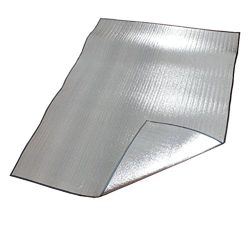 utdoor Picknick Camping Aluminium Foil Feuchtraum Pad Kissen Strandmatte ()