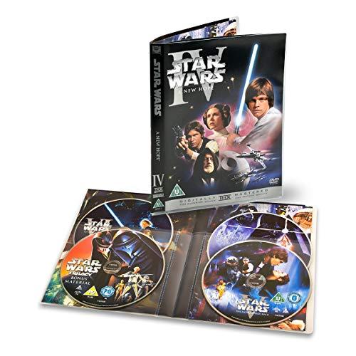 3L Fr 10288 - 4 DVD-Hüllen mit separaten Fächern für je 4 Scheiben und 4 Hüllen - 10 Stück