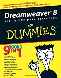 Dreamweaver 8 All-in-One Desk Reference For Dummies (For Dummies (Computers))
