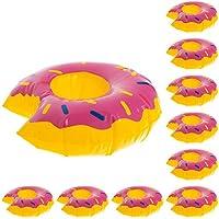 10 x MEGA Pool Einhorn Ananas Palme Melone 3x Donut Flamingo Ente /& Limette 0,3L