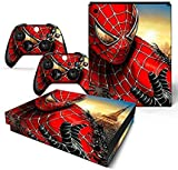 #8: Elton Spider Man 3 3M Skin Decal Sticker For X Box One X Console & Two Controllers