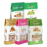 #8: Nutraj Signature Daily Needs Dry Fruits Pack 1 Kg (Almonds Plain 200g, California Walnuts 200g, R&S Pistachios 200g, Plain Cashews 200g, Raisins 200g)