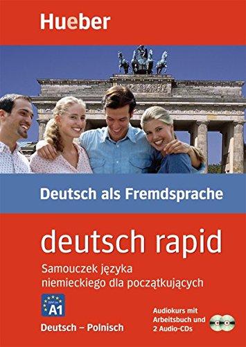 Deutsch rapid, 2 Audio-CDs m. Begleitbuch, Deutsch-Polnisch