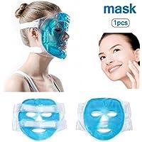 Eis-Kühlmaske, gefrierbar und wiederverwendbar, geeignet für geschwollene Augen, dunkle Kreise, lindert Stress preisvergleich bei billige-tabletten.eu
