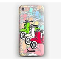Cover iPhone X, 8, 8+, 7, 7+, 6S, 6, 6S+, 6+, 5C, 5, 5S, 5SE, 4S, 4, Vespa Viaggi