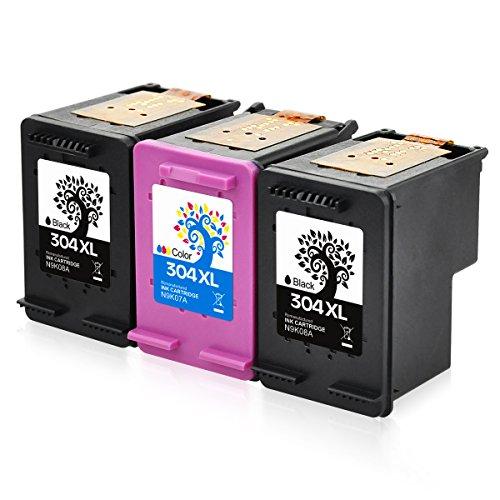 H & bo nero + tricolore) per hp 304xl cartucce d' inchiostro rigenerate disponibile per n9k08a n9k07a per hp deskjet 372037213723372437303732375237553758 2bk + 1tri-color