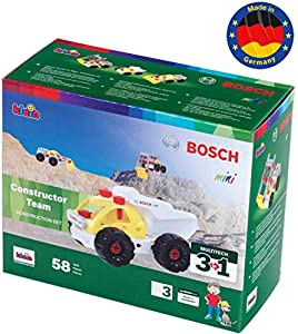 Theo Klein- 8792 Bosch 3 In 1 Set De Construcción, Constructor Team, Juguete, (8792)