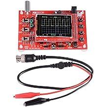 """XCSOURCE® Totalmente ensamblado DSO138 2.4 """"TFT Pantalla Osciloscopio Digital Kit (1Msps, 12Bit) + Sonda con visualización de parámetros de forma de onda TE639"""