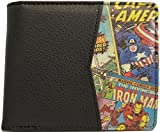 Marvel Official Half Comic Printed Design Wallet