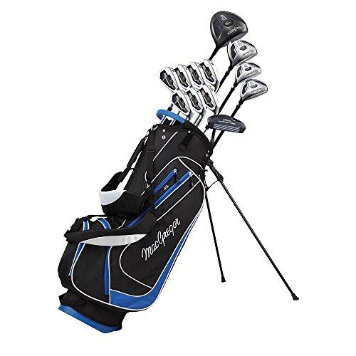 MacGregor DCT2000 Jeu de Clubs de Golf pour Homme avec Sac Trépied- en Acier, pour droitier