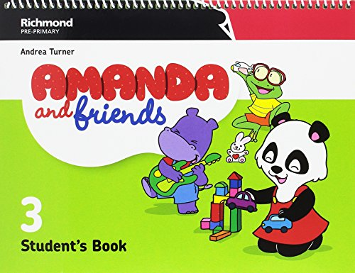 AMANDA & FRIENDS 3 STUDENT'S PACK